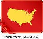 map of usa | Shutterstock .eps vector #689338753