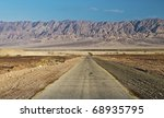 View On Jordanian Mountains In...