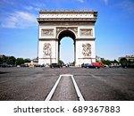 paris  france   june 24  2014 ...   Shutterstock . vector #689367883