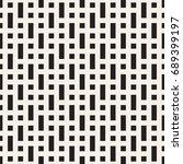 vector seamless pattern. modern ... | Shutterstock .eps vector #689399197