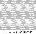 abstract geometric pattern with ... | Shutterstock .eps vector #689400553