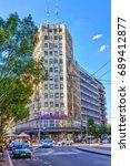 serbia  belgrade   july 26 ... | Shutterstock . vector #689412877