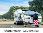 caravan and trailer for motor...