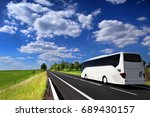 bus on the road | Shutterstock . vector #689430157