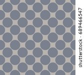 seamless pattern with polka dot....   Shutterstock .eps vector #689466547