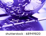 Computerization - stock photo