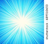 starburst  sunburst  rays of...   Shutterstock . vector #689510653