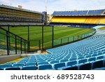 la bombonera  buenos aires ... | Shutterstock . vector #689528743