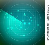 abstract radar . screen over...