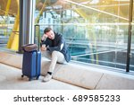 Man Upset At The Airport His...