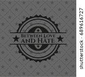 between love and hate dark... | Shutterstock .eps vector #689616727
