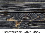 old  weather worn wood board...   Shutterstock . vector #689623567