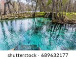 amazing florida springs | Shutterstock . vector #689632177