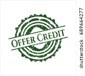 Green Offer Credit Distressed...