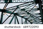 bridge structure | Shutterstock . vector #689722093