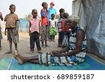 juba  south sudan  february... | Shutterstock . vector #689859187
