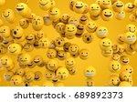 emoji emoticon character... | Shutterstock . vector #689892373