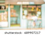 blur image of day market on... | Shutterstock . vector #689907217