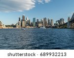 generic modern cityscape with... | Shutterstock . vector #689932213
