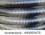 drainage pipes | Shutterstock . vector #690005473
