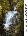 siripoom waterfall autumn... | Shutterstock . vector #690089983