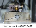 close up plastic injection mold ... | Shutterstock . vector #690090457