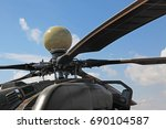 russian attack helicopter mi 28 ... | Shutterstock . vector #690104587