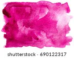abstract watercolor pink... | Shutterstock . vector #690122317