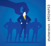 business illustration concept... | Shutterstock .eps vector #690246913