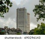 mumbai  india   july 9  2017  ... | Shutterstock . vector #690296143