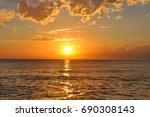 Small photo of Croatia. Adriatic sunset