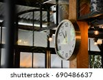 clock near noon | Shutterstock . vector #690486637