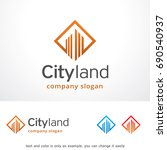 city land logo template design... | Shutterstock .eps vector #690540937