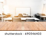 black and white blur image of...   Shutterstock . vector #690546403
