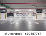 Empty Underground Parking.