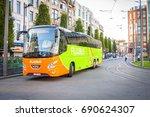 antwerp  belgium. july 18  2017.... | Shutterstock . vector #690624307