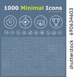 set of 1000 isolated minimal...