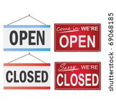 image of various open and...