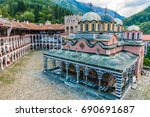 Rila Monastery  Bulgaria. The...