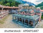 Rila Monastery  Bulgaria. The...