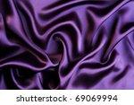 Beautiful Trendy Violet Silk