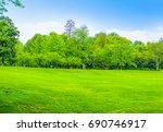 woods  | Shutterstock . vector #690746917