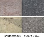 background of stone. set of... | Shutterstock . vector #690753163