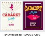 retro style 70's 80's 90's... | Shutterstock .eps vector #690787297