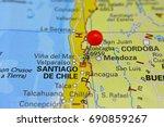 Pin Marking Santiago De Chile ...