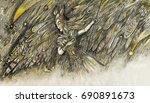 valkyrie  north mythology... | Shutterstock . vector #690891673