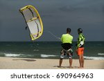 Kitesurfing Instructor And Mal...