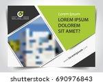 vector brochure  flyer ... | Shutterstock .eps vector #690976843