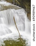 Small photo of Waterfalls abound in the Enfield Creek George in Robert Treman State Park, Tompkins County, New York