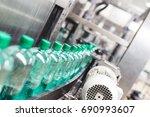bottling plant   water bottling ...   Shutterstock . vector #690993607